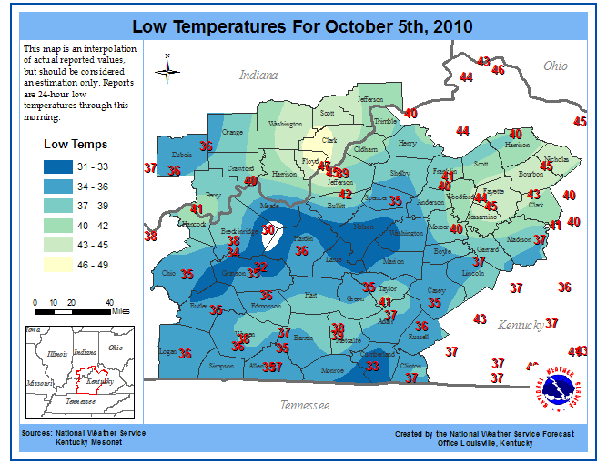 Graphic taken from NWS Louisville