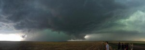 Another look at the Denver supercell.