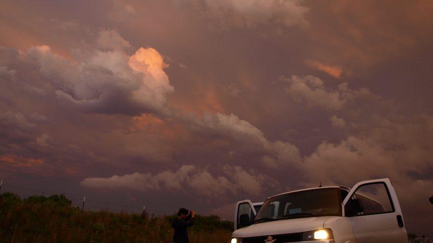Figure 6: Sunset on the van